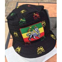 Gorra Cachucha Hat Rasta Leon Of Judah Reggae Unitalla