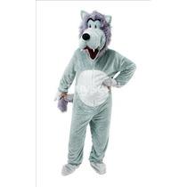 Lobo Disfraces - Adultos Animal Pantomine Mascota Del Vestid