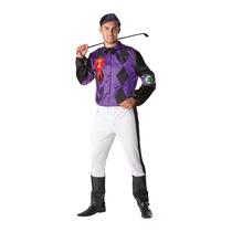 Hombre Jockey Traje - Adulto Del Vestido De Lujo X De Gran T