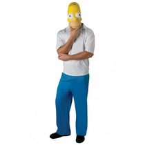 Homer Simpson Disfraces - Adultos Hombres 38 -42 Classic La