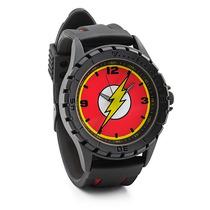 Flash Reloj De Pulso Escudo En Color Negro