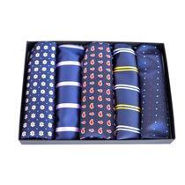 Paquete De 5 Pañuelos Para Caballero Pocket Square