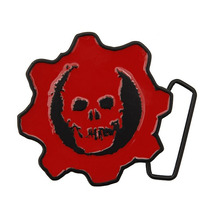 Hot Topic Hebilla Gears Of War Logo Buckle