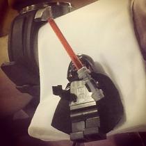 Mancuernillas Lego Darth Vader