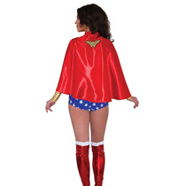 Dc Comics Wonder Woman Costume Cabo Adulto Talla