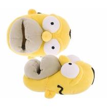 Pantuflas Homero Simpson P/ Caballero. Tallas