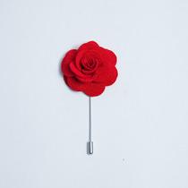 Paquete De 5 Botonier O Fistol De Flor De Tela. Envio Gratis