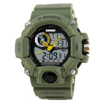 Reloj S-shock Deportivo Sumergible 50 Mts Tipo Militar