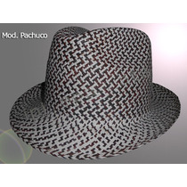 Sombrero Hipster Tipo Fedora Ala Corta Varios Colores