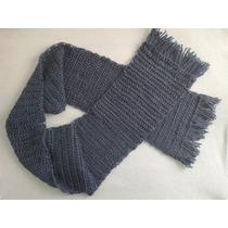 Bufanda Tejida A Crochet Difrentes Colores