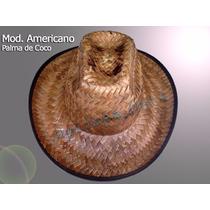 Sombrero Americano Palma De Coco Económico