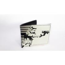 Cartera Billetera Oficial De Star Wars Stormtrooper Bi-fold