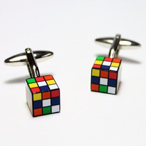 Mancuernillas Rubik Cube, Traje Camisa
