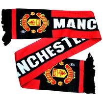 Manchester United Bufanda - Hombre Oficial Utd 10g Caliente