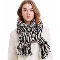 Bufanda Ax Armani Exchange (bicolor Wool Scarf)100% Original