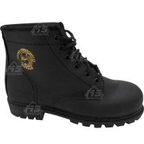 Zapato Bota Bufalo Basic Seguridad Industrial Casco De Acero