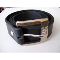 Cinturón Caballero Baqueta 100% Cuero Garantia De Calidad