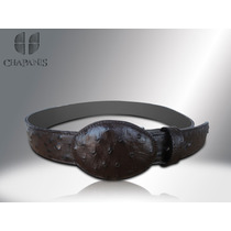 Promoción !!! Cinturones De Avestruz Original, Leon Gto *
