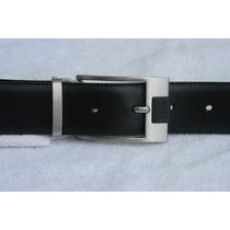 Hugo Boss Cinturón Caballero Piel Color Negro Unitalla