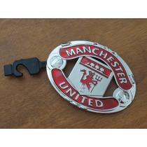 Fina Hebilla Metal P Cinturón Manchester United Red Devils