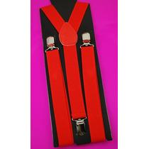 Tirantes Colores Para Pantalon Con Broches De Metal Modernos