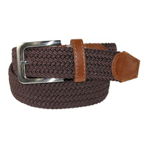Cinturón Elástico Trenzado Para Hombres Con Hebilla Platea