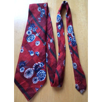 Corbata Roja Con Bonito Estampado ...... Corb70