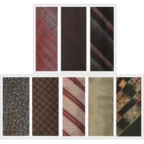 Lote De 8 Corbatas Varios Diseños / Retro Vintage 80s