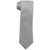 Corbata Calvin Klein Hombres De Oxford Dot Tie Fucsia, Un T