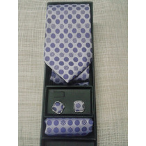 Corbata Pañuelo Mancuernillas