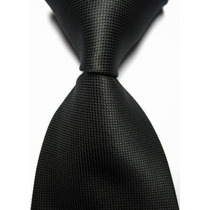 T04 Corbata Negra - Textura Microcuadros