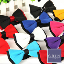 Corbata De Moño - Bow Tie Bicolor