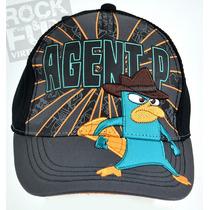 Perry Phineas Y Ferb Gorra Importada 100% Original 2