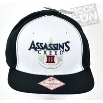Assassins Creed Iii Gorra Importada 100% Original