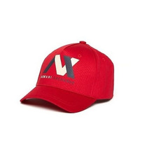 Gorra Ax Armani Exchange (bicolor Logo) Roja 100% Original