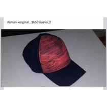 Gorra Armani Original