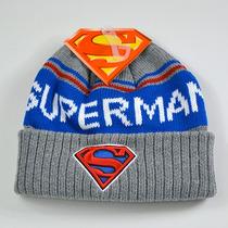 Superman Dc Comics Gorro De Invierno 100% Original
