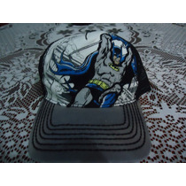 Gorra De Batman Dc Comics Original Ajustable Etiquetada