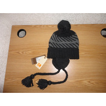 Gorro Hugo Boss Orange (falone Hat) Negro 100%original