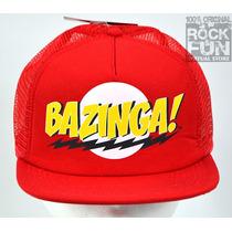 The Big Bang Theory Bazinga Gorra Importada 100% Original