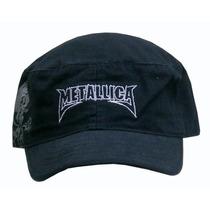 Metallica Gorra Cadete Militar Importada 100% Original