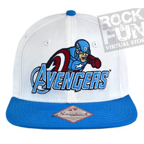 Capitan America Avengers Marvel Comics Gorra Importada