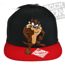 Looney Tunes Taz Gorra Flatbill Importada 100% Original
