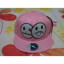 Gorra Rosada D Carita Rod & Pipers Original Talla 7 1/8