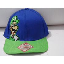 Gorra Super Mario Bros 100% Original Unitalla Ajustable $299