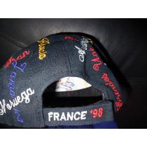 Gorra Del Mundial Francia 98 Y Chicago Bulls