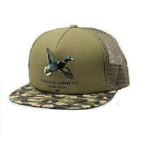 Gorra Diamond Supply Duck Trucker Army 100% Original