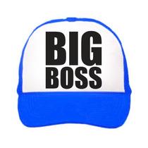 Gorra Tipo Trucker Big Boss Unitalla