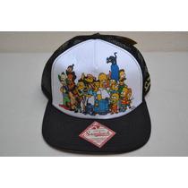 Gorra The Simpsons Tipo Trucker Snapback Original