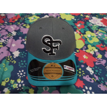 Gorra Azul Gris San Francisco New Power Original Talla 6 7/8